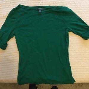 Women's Small Green Shirt